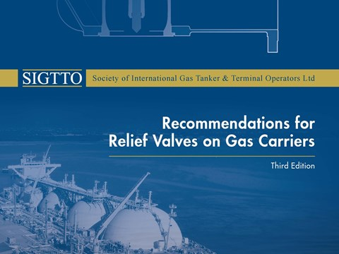 Recommendations for Relief Valves on Gas Carriers
